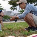 新宿→銀座→地元の公園