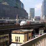 新幹線を見てきました
