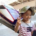 山形新幹線つばさの新型車両エクステリアデザインを見てきた